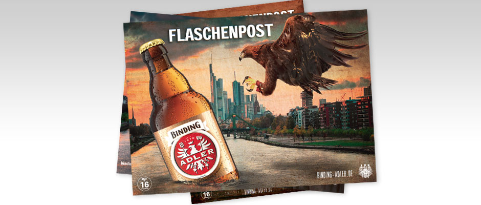 Binding Adler-Postkarten